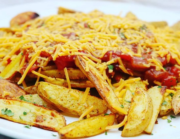 BBQ Cheese Pommes